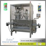 Automatic Protein Powder, Dry Powder, Milk Powder, Coffee Powder Tin Can Bottle Filling Bagging Packaging Packing Machine Line