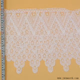 Fashion Eyelet Decorative Trimming Tape Cotton Fabric Lace Garment Accessories