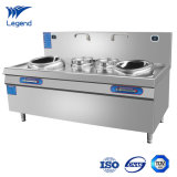 Commercial Induction Stove with Double Burner for Restaurant