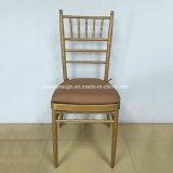 Wedding Banquet Metal Golden Chiavari Tiffany Stackable Chair (JY-J01)
