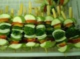 IQF High Quality Frozen Vegetable Mixed Skewers