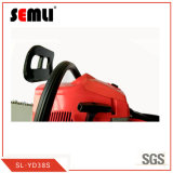 2-Stroke Gasoline Chain Saw with Rubber Grip