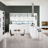 L Shape White Matt Lacquer Modern Furniture Modern Wholesale Wood Kitchen for Wholesale (ACS2-L324)