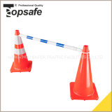 Extenable Traffic Cone Bar Road Safety Barrier