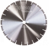 350mm Laser Welded Diamond Turbo Saw Blade Cured Concrete Cutting Tools