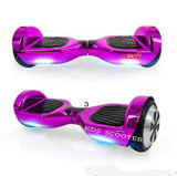 "Hoverboard Self Balancing Scooter 6.5"" Two-Wheel Self Balancing Hoverboard with Bluetooth Speaker and LED Lights"