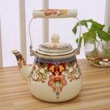 Durable Elegant Decal Enamel Jug/Teapot/Kitchenware