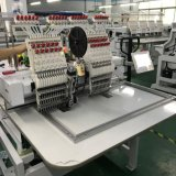 Double Two Head 3D T-Shirts Hat Embroidery Machine 2 Heads Embroidery Machine