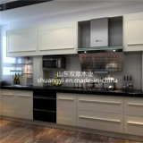 High Glossy White Lacquer Kitchen Cabinet for Sale