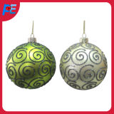 Glass Hanging Ball Ornament for Christmas Tree Decorations