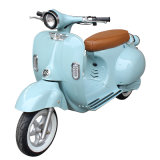 Retro Electric Motorcycle Moped Lithium Battery Scooter Vespa