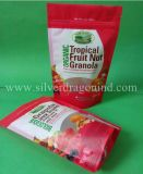 Stand up Plastic Ziplock Bag for Nuts Package, Food Grade