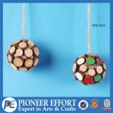 Wooden Tree Ball for Christmas Decoration