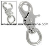 Stainless Steel Safety Double Latch Casting Snap Hook