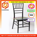 China Popular Black Resin Chiavari, Chivari, Chiavary Chair for Wedding