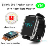 GPS Tracker Watch with Heart Rate Monitor for Elderly (Y16)