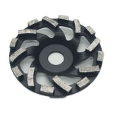 125mm 5 Inch Concrete Segment Turbo Cup Grinding Wheel
