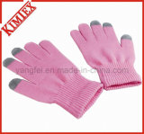 Wholesales Fashion Knitted Acrylic Magic Texting Glove