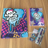 Custom Ring Binder Spiral Notebook Stationery Gift Sets
