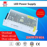 Industrial SMPS 5V 40A SMPS Single Output Switching Power Supply 200W