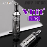 Wholesale Seego Vhit King Dry Herb Vaporizer with Metal Pyrex Pipes