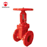 UL Listed OS&Y Type Cast Steel Flanged Industrial Gate Valve
