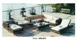 Iron Frame PE Rattan Leisure Outdoor Sofa Table Chaise Set Furniture