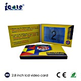 The New Design Greeting Card Video Module/Business Video Card/Birthday Video Card