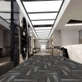 Zurich -1/12 Gauge Hotel Carpet Loop Pile Jacquard Carpet Tile with Bitumen Back