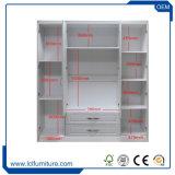 PVC Melamine MDF Particle Board Bedroom Wardrobe Closet Almirah