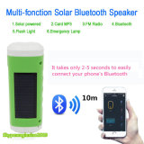 Outdoor Sport Solar LED Lamp Camping Lighting LED Flashlight with Bluetooth Speaker