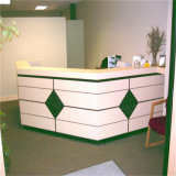 LED Reception Desk Reception Counter Desk Small Salon Reception Desk
