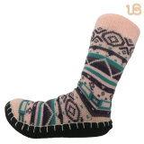Women′s Warm Non Slip Home Sock
