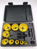 13PCS Bi-Metal Hole Saw Kit with Blow Box