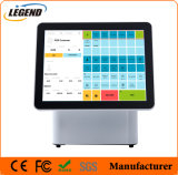 Retail Point of POS Equipment Dual Screen Capacitive Touchscreen