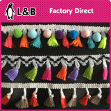 4.5cm Colors Cotton Ball Trims Tassel