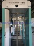 Ready to Ship-Intelligent Disinfection Cabinet with Disinfectant Spray-Mobile Thermometry Sterilizer-KN95 Mask