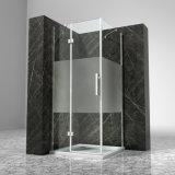 Aluminium Frame Toughened Tempered Glass Hinged Shower Box