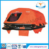 Solas Approved Ec Yacht Boat Overboard Inflatable/Self Inflating Life Raft Throw Overboard Marine Inflatable Liferaft Price