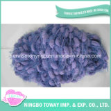 Knitted Scarf Winter Cap Weaving Cotton Fancy Yarns