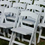Wholesale Export White Colour Plastic Folding Events Chair