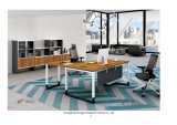 L-Shape Executive Table Office Furniture Computer Desk (H90-0102)