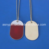 Custom Qatar Flag National Day Souvenir Dog Tag Necklace