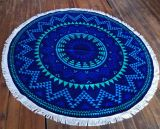 (BC-RT1002) High Quality 100% Cotton Round Beach Towel