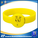Custom Silicone Wristband for Promotion (ele-PVC002)