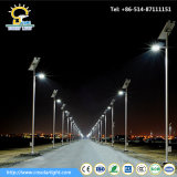 10m Pole Solar Street Light Installed in Niger