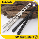Camping Tool folding Butterfly Traning Knife with Comb