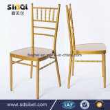 Aluminum Metal Resin Stacking Dining Chiavari Chair for Hotel Restaurant Banquet Wedding