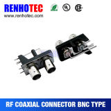 Right Angle BNC Connector PCB Mount Connector