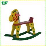 Funny Wooden New Model Kids Design Rocking Horse